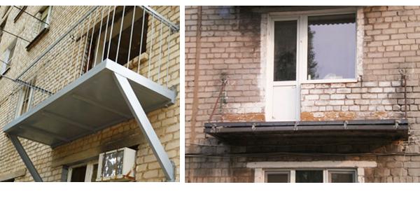 Ремонт балконной плиты своими